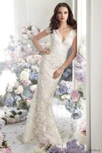 jim-hjelm-fall-2012-bridal-lace-charmeuse-a-line-wedding-dress-8252-v-neckcap-sleeve-sheer-back-sweep-train