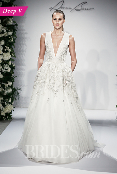wedding-dress-trends-for-fall-2015-deep-V