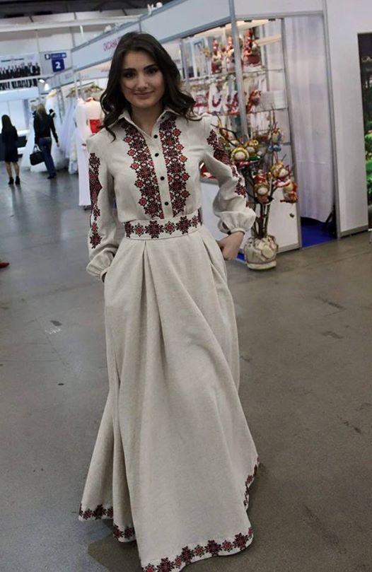 61f939ca91a4ff Імперія свят | Схема вишивки сукні